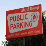 Respect Orange - Parking Sign