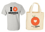 Respect Orange Shirt Tote Combo